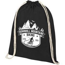 Oregon Plus 140gsm Cotton Drawstring Bag