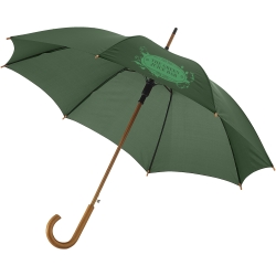 Kyle 23Inch Auto Open Umbrella Wooden Shaft And Handle