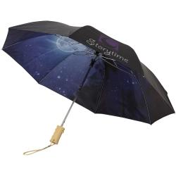 Clear-Night 21Inch Foldable Auto Open Umbrella