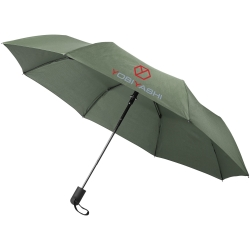 Gisele 21Inch Heathered Auto Open Umbrella