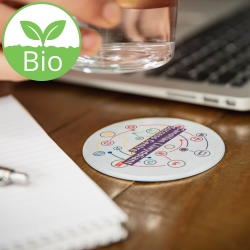Biodegradable Coaster - Circle
