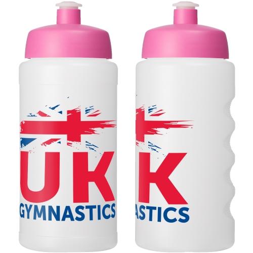 Clear Bottle - Pink Lid