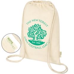 Eden Organic Cotton Drawstring Bag