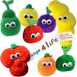 Promotional Fruit and Veg Logobugs