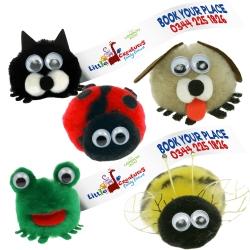 Cute Animal Logobugs