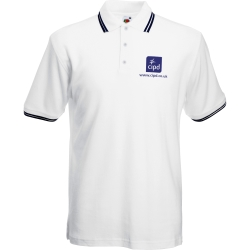 Fruit of the Loom Tipped Pique Polo