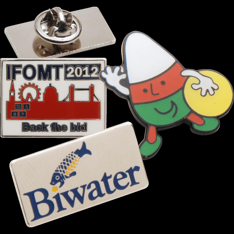 20mm Soft Enamel Badges