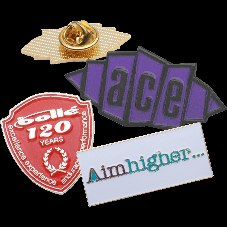 25mm Soft Enamel Badges
