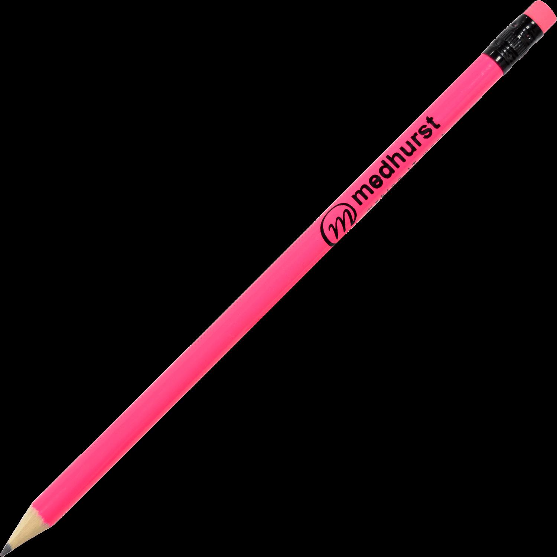 Neon Printed Pencils