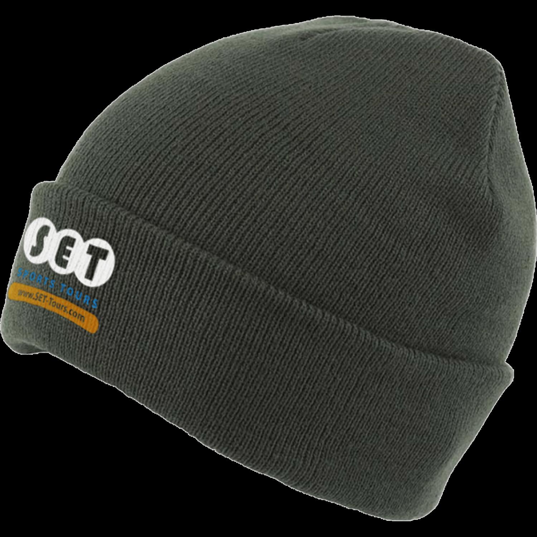 Balenciaga logo embroidered beanie hat Men Hats JoftRY