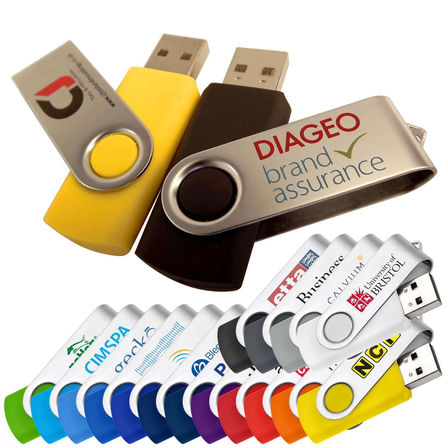 Twisty Promo USB Memory Stick