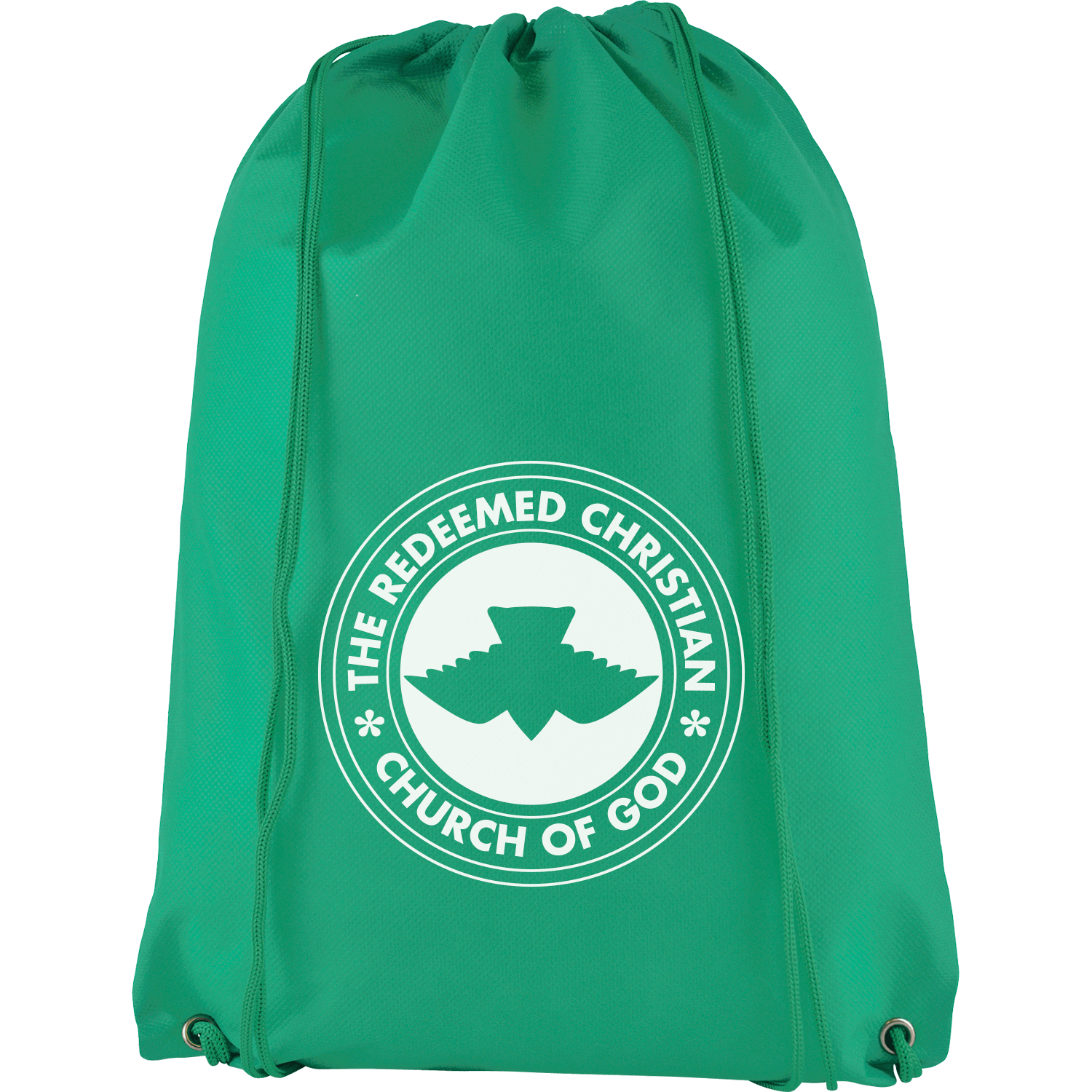Recycled Non-Woven Drawstring Bag