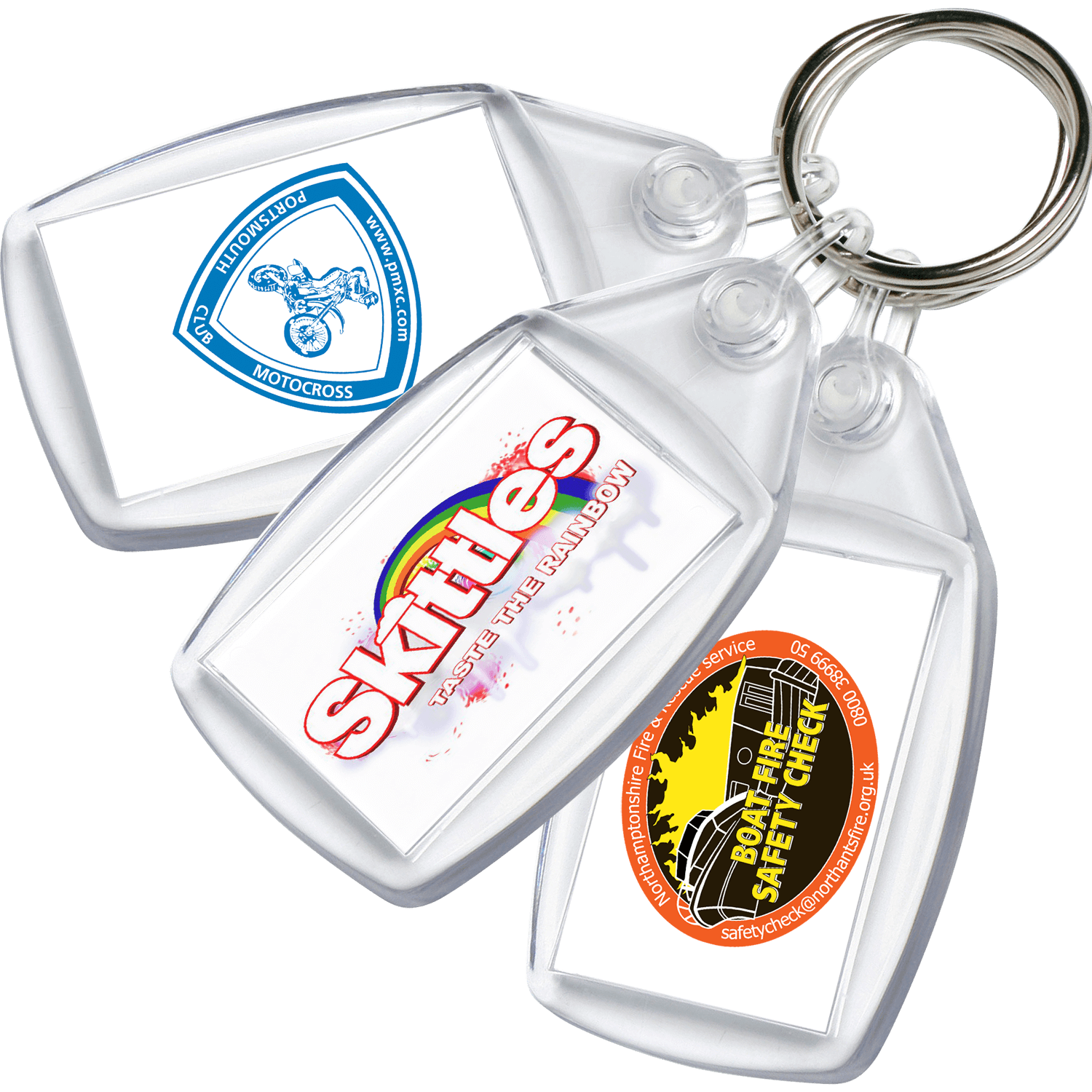 Value Printed Keyring
