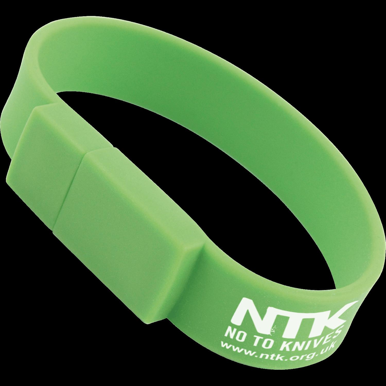 Wrist Band Promo USB Memory Stick