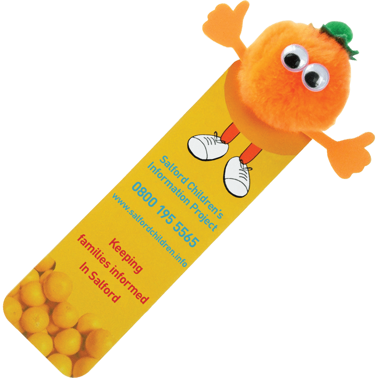 Fruit and Veg Bookmark