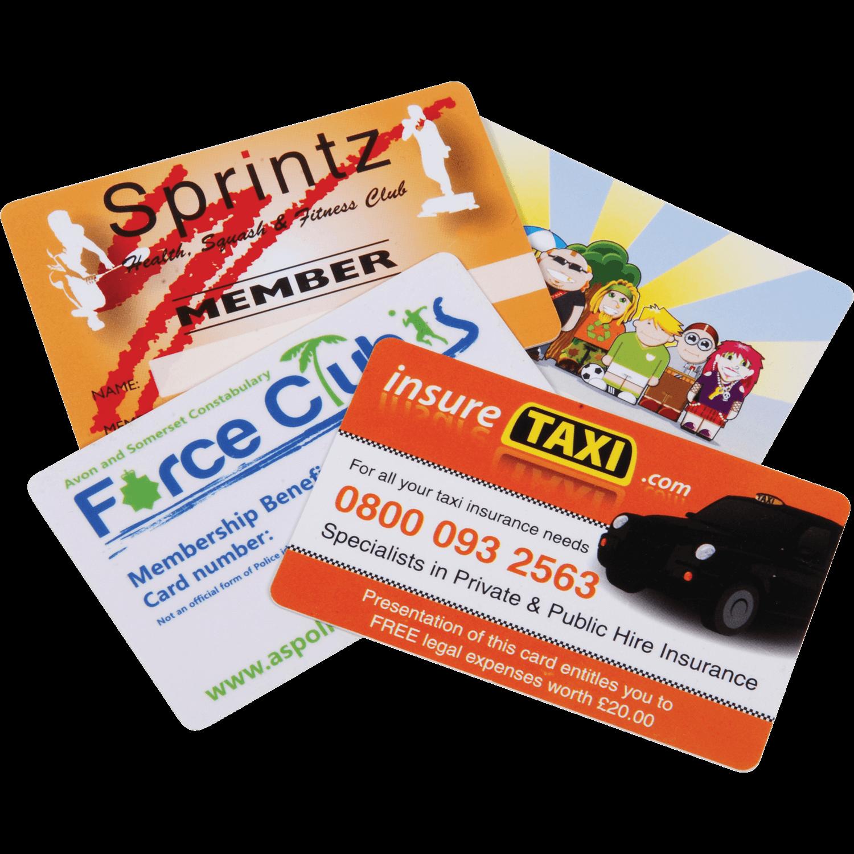 Plastic Lanyard ID Cards