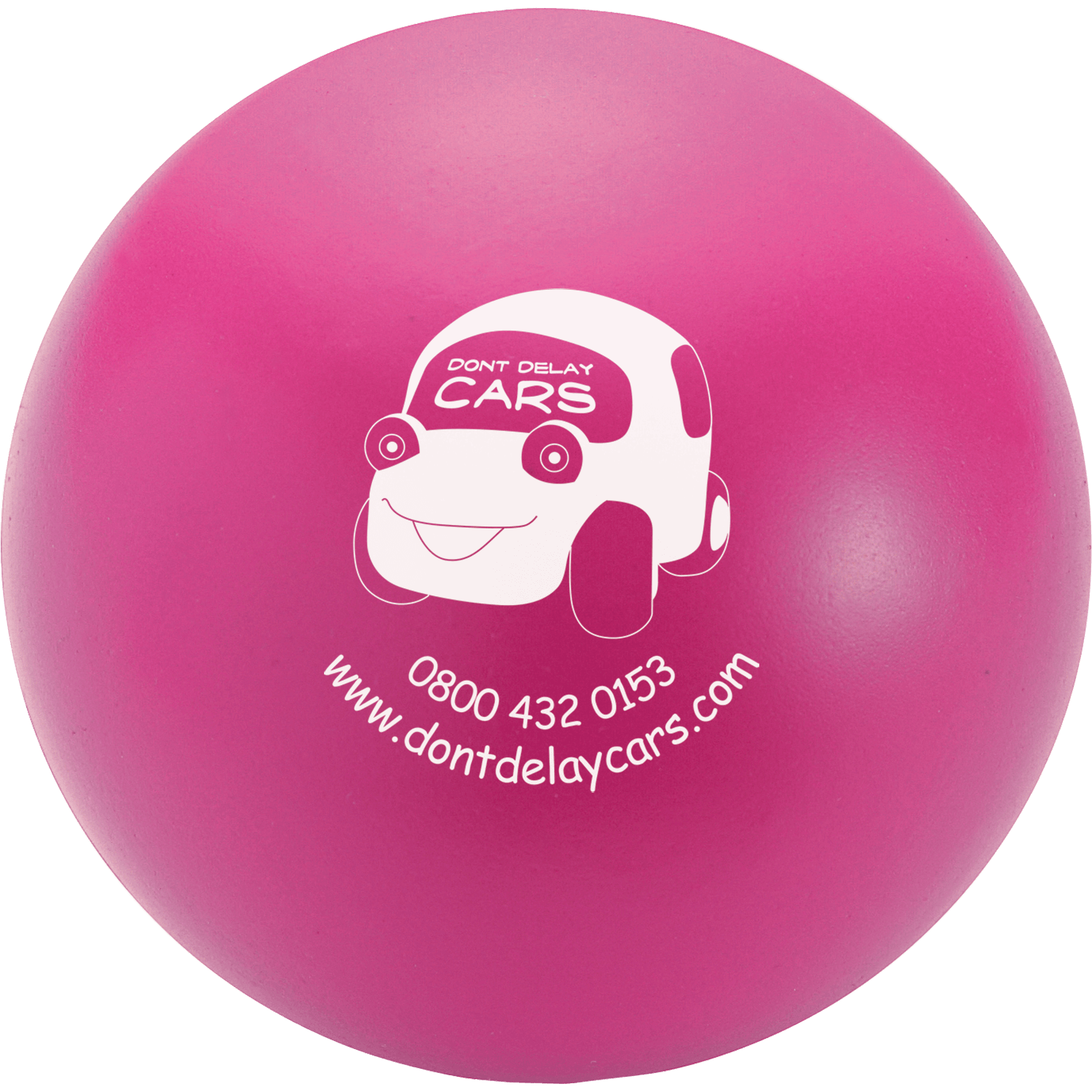 Printed Promotional Stress Ball Plus