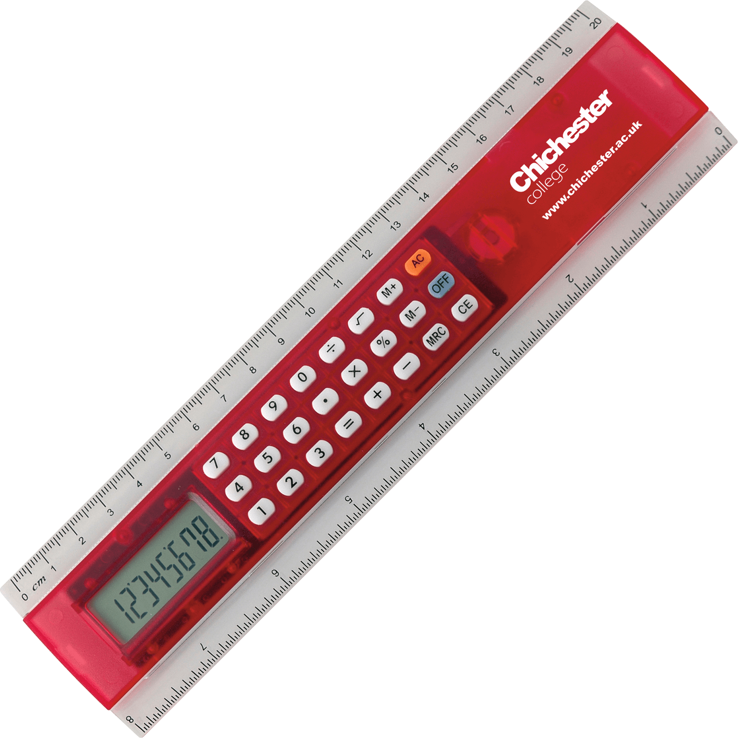 200mm Calculator Ruler