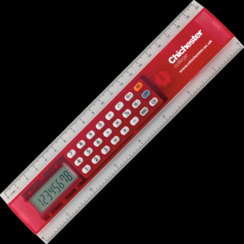 20cm Calculator Ruler