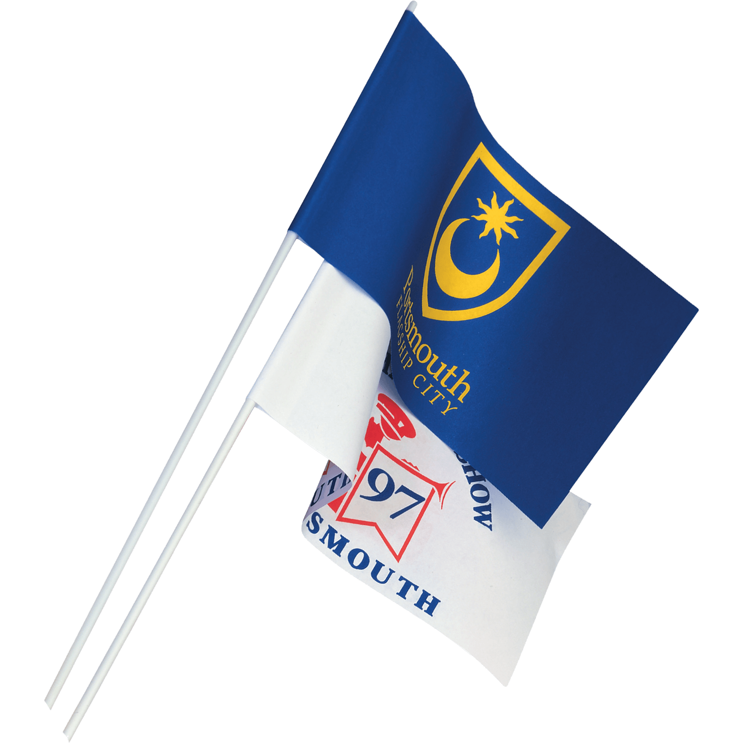 Paper Handwaving Flag