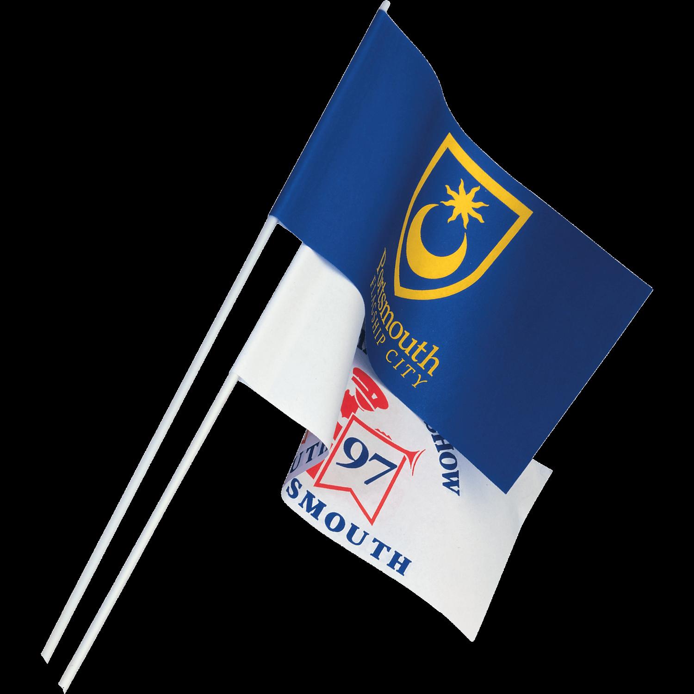 Printed Paper Flag