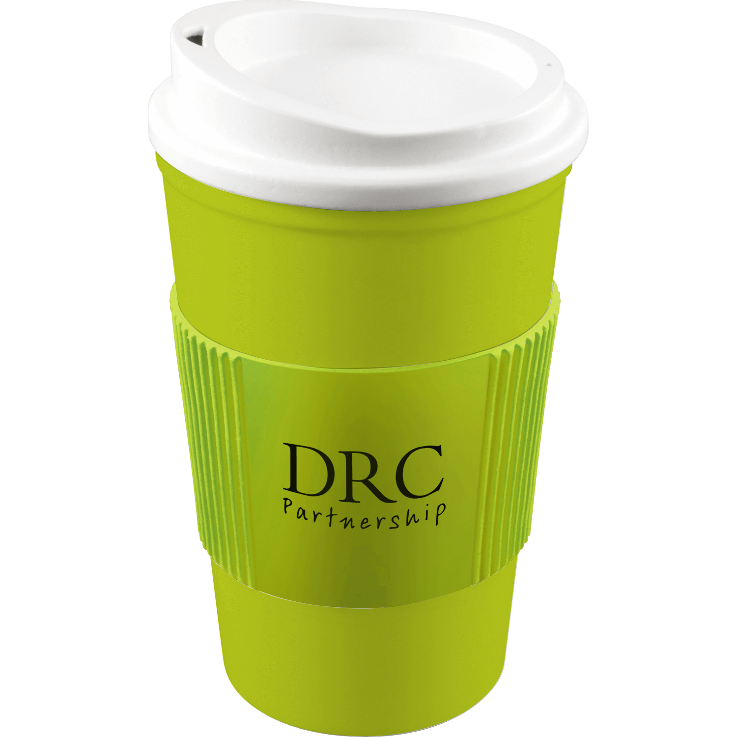 Lime Mug (583) - White Lid - Lime Grip (583)