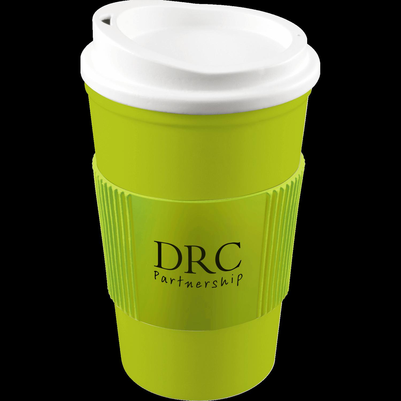 Lime Mug (583) - White Lid - Lime Grip (583)