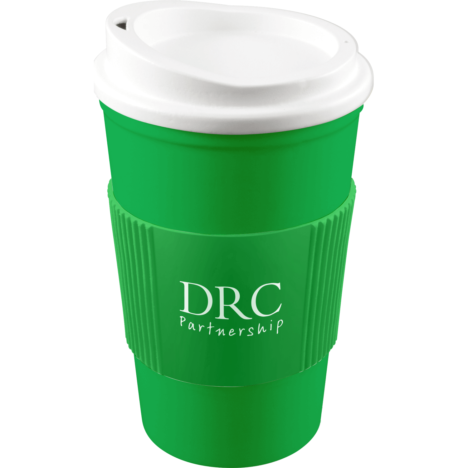Green Mug (7481) - White Lid - Green Grip (7481)