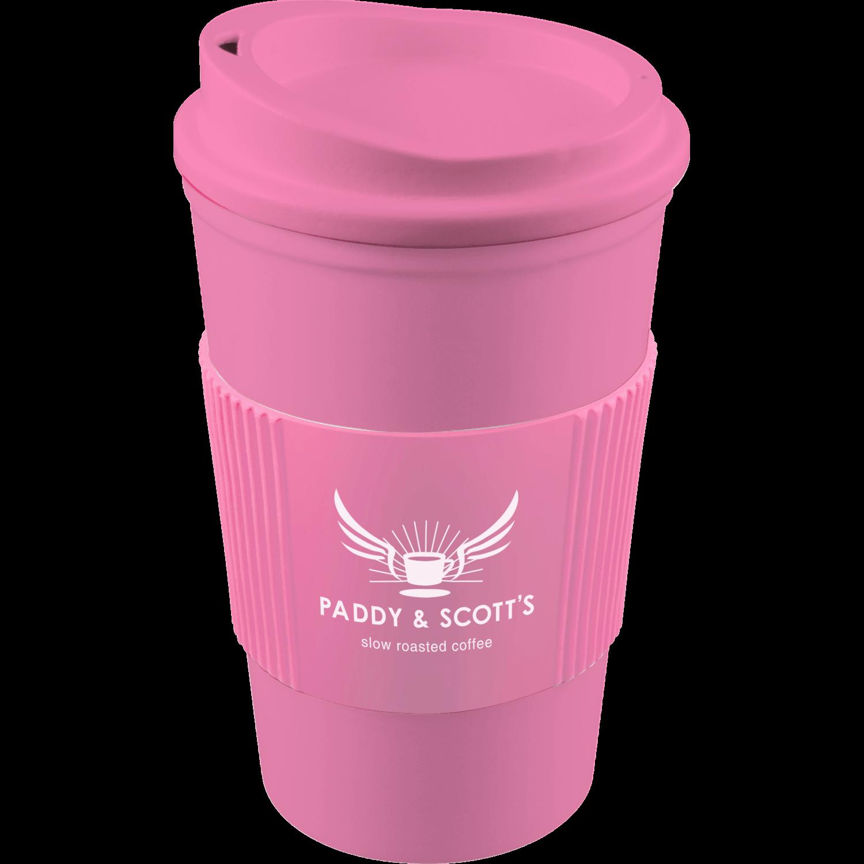 Pink Mug (211) - Pink Lid (211) - Pink Grip (211)