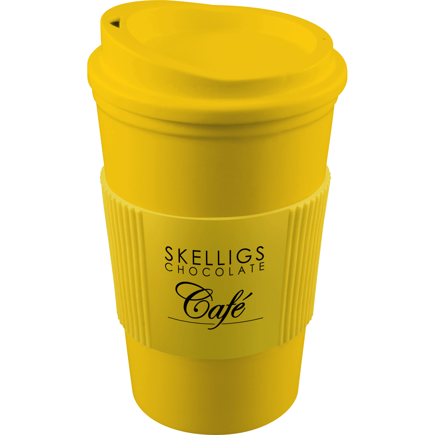 Yellow Mug (114) - Yellow Lid (114) - Yellow Grip (114)