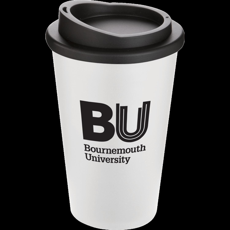 White Mug - Black Lid