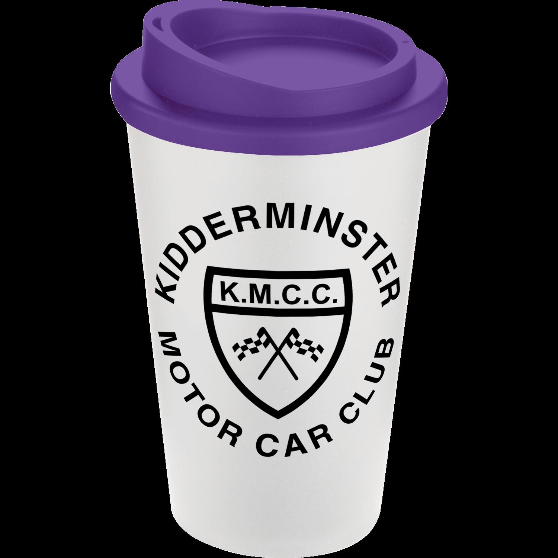 White Mug - Purple Lid (2587)