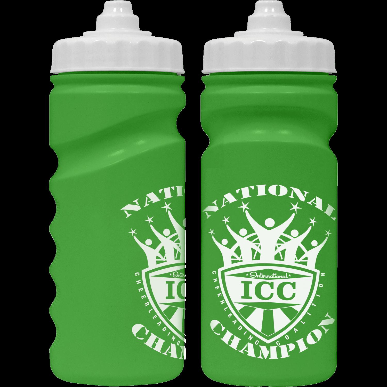 Green - White Valve Cap