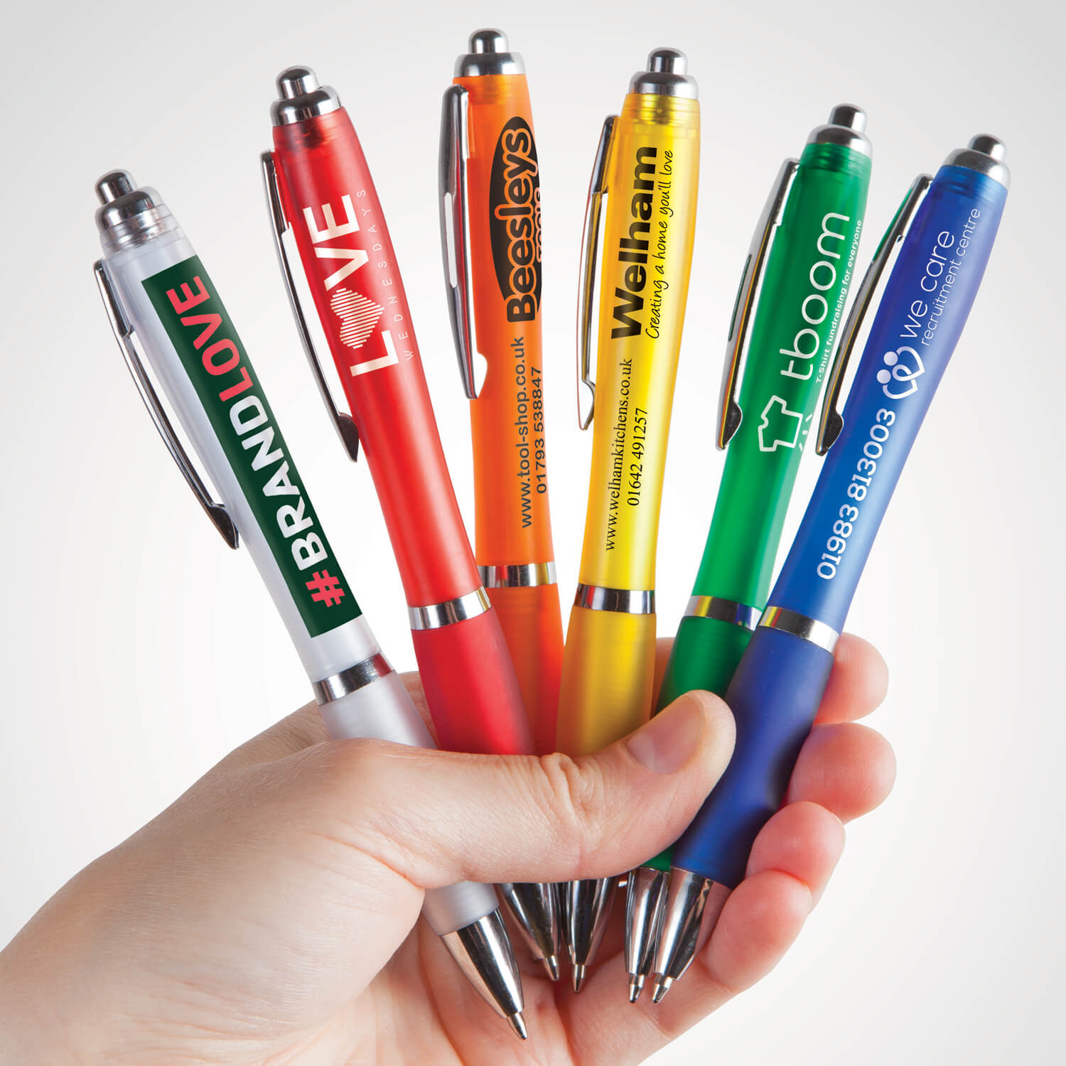 Curvy Promotional Pens