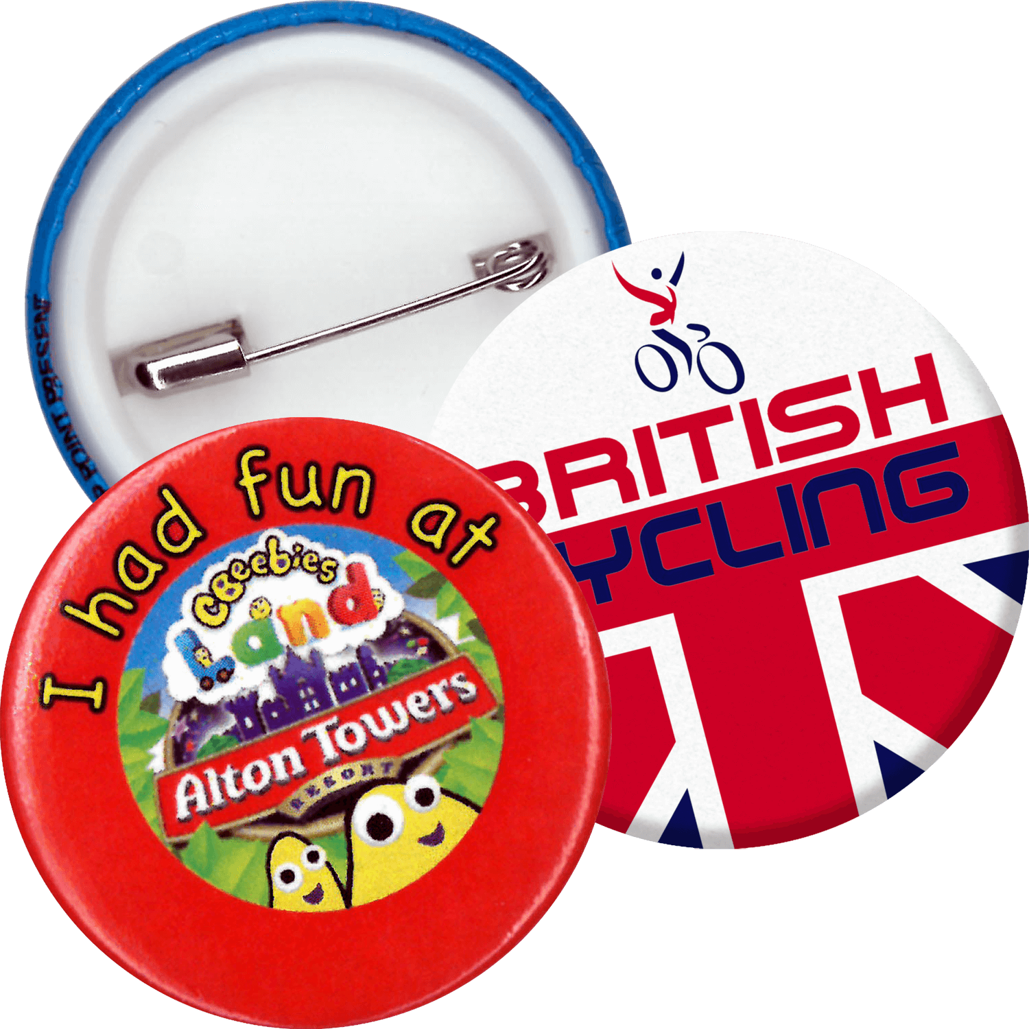 Button Badges - 38mm
