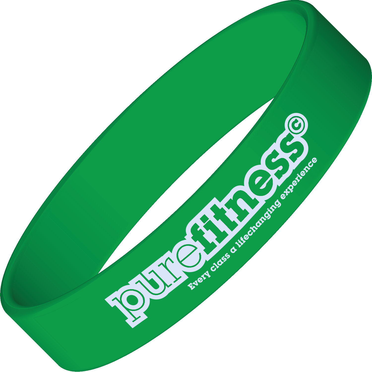 Express Printed Silicone Wrist Band