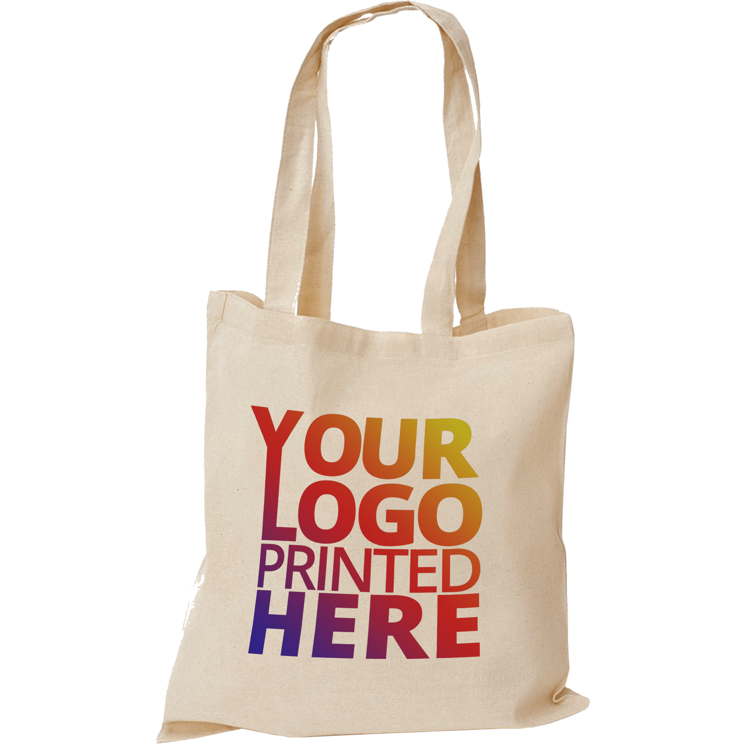 Natural Photo Cotton Printed Tote Bags 5oz