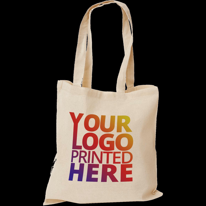 Natural Photo Cotton Printed Tote Bags 5oz