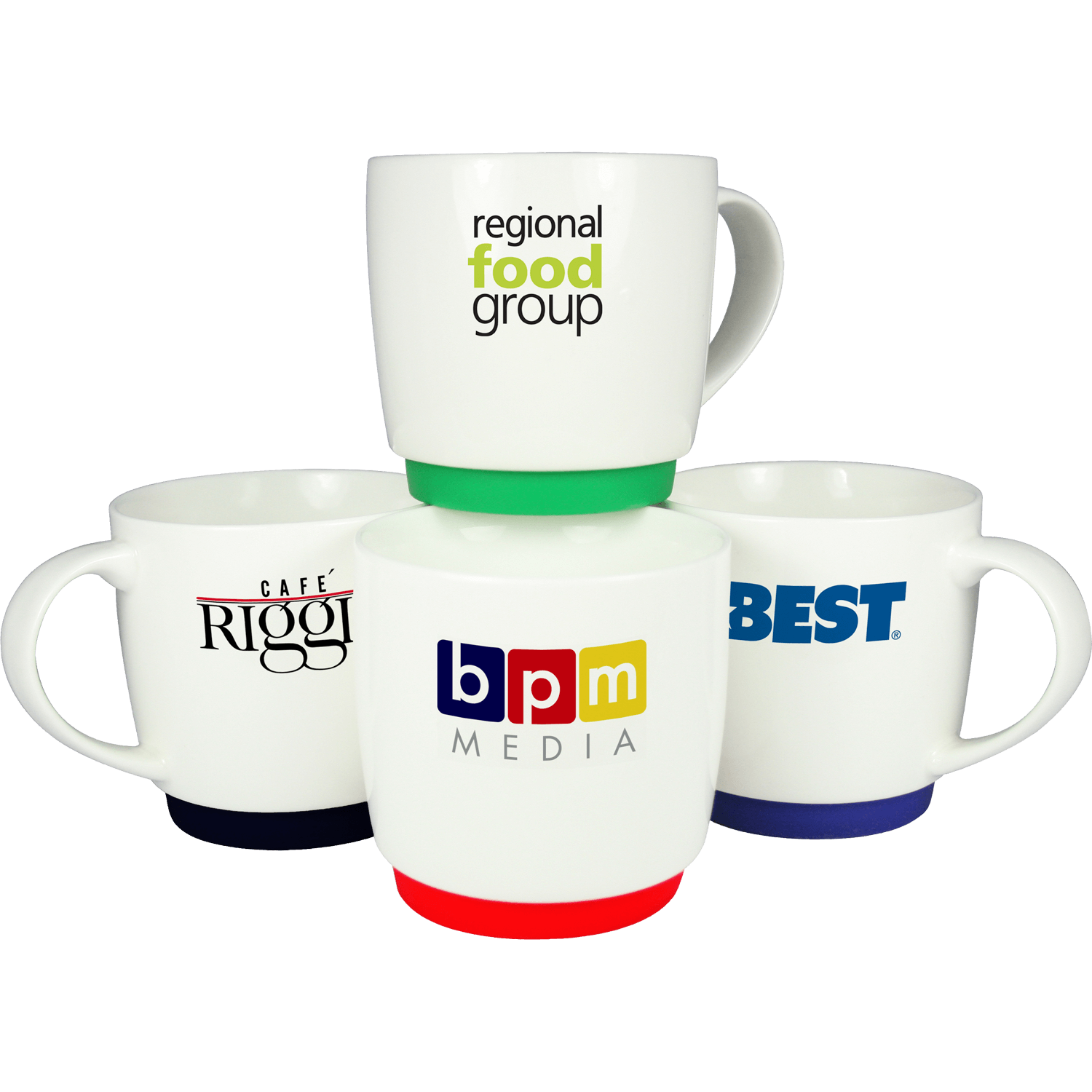 Paris Silicone Base Promotional Mugs