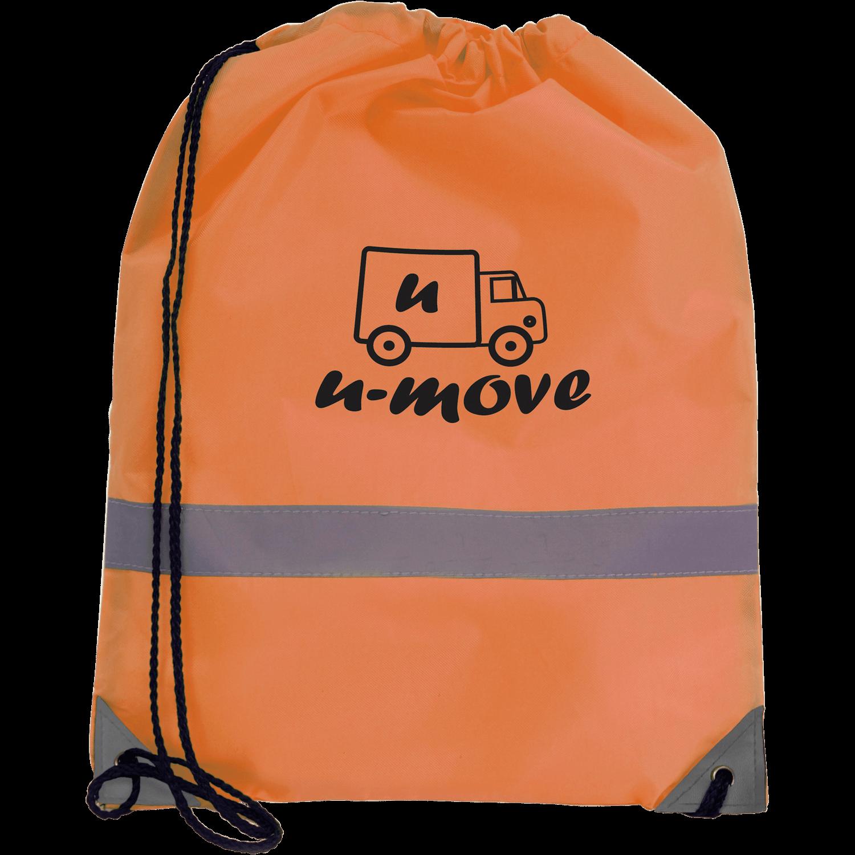 Hi-Vis Drawstring Bag