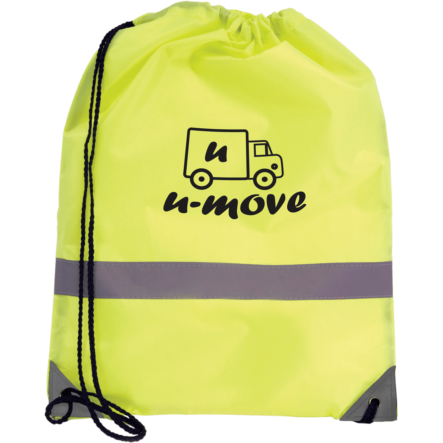 Hi-Vis Drawstring Bag