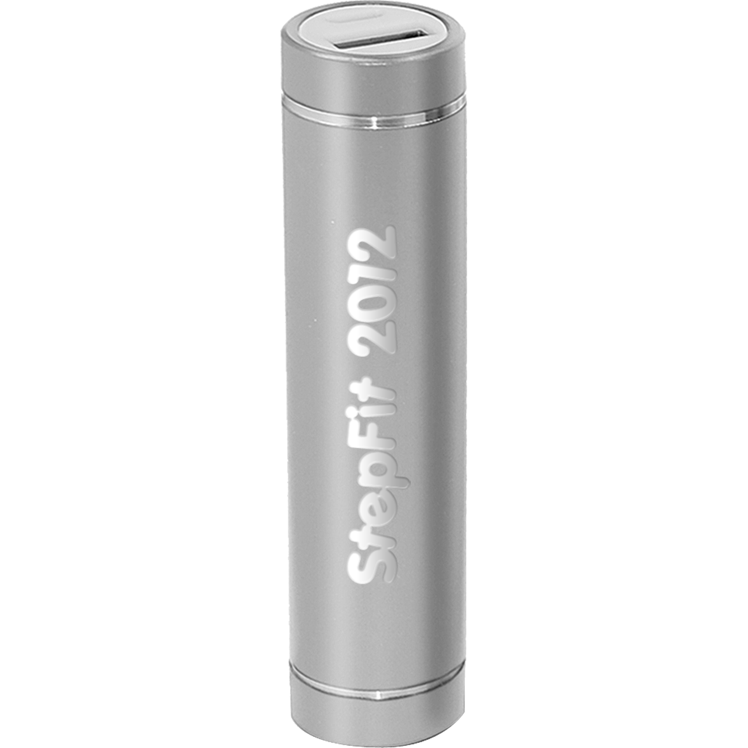 Engraved Cylinder Power Bank Charger