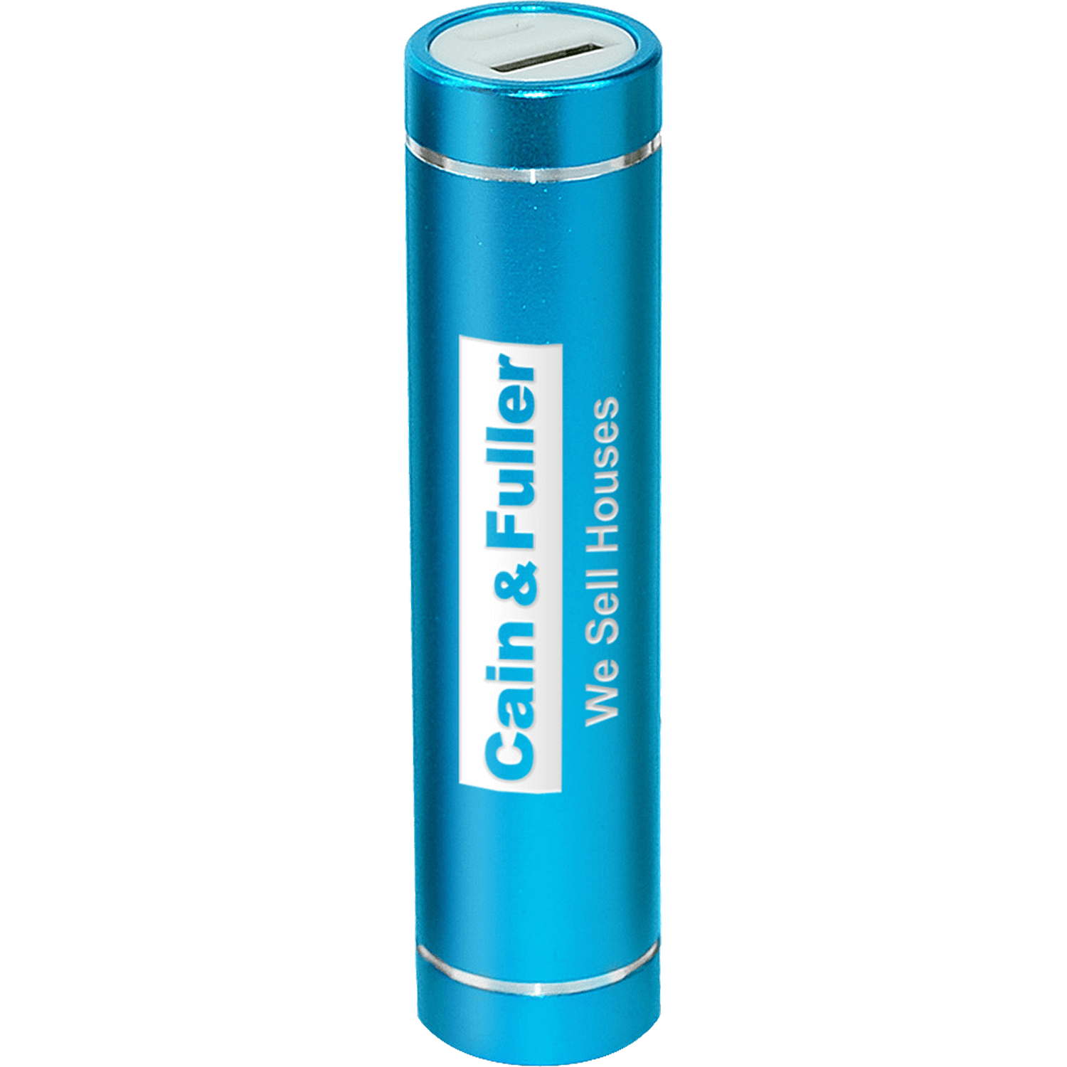 Engraved Cylinder Power Bank Charger 2200mAh