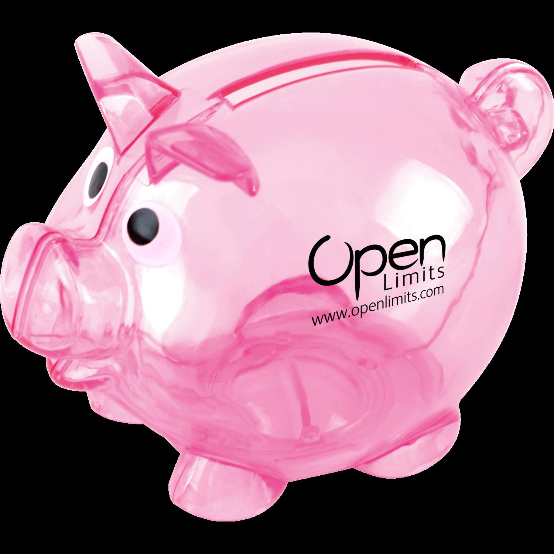 Mini Printed Piggy Banks