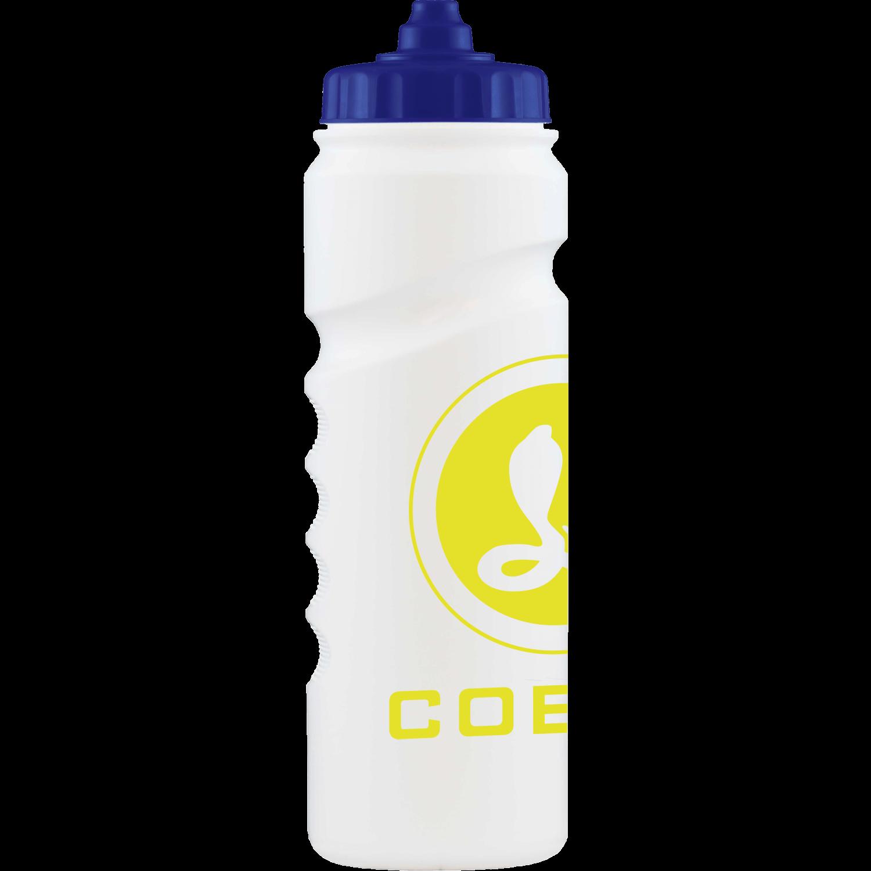 White - Dark Blue Valve Cap