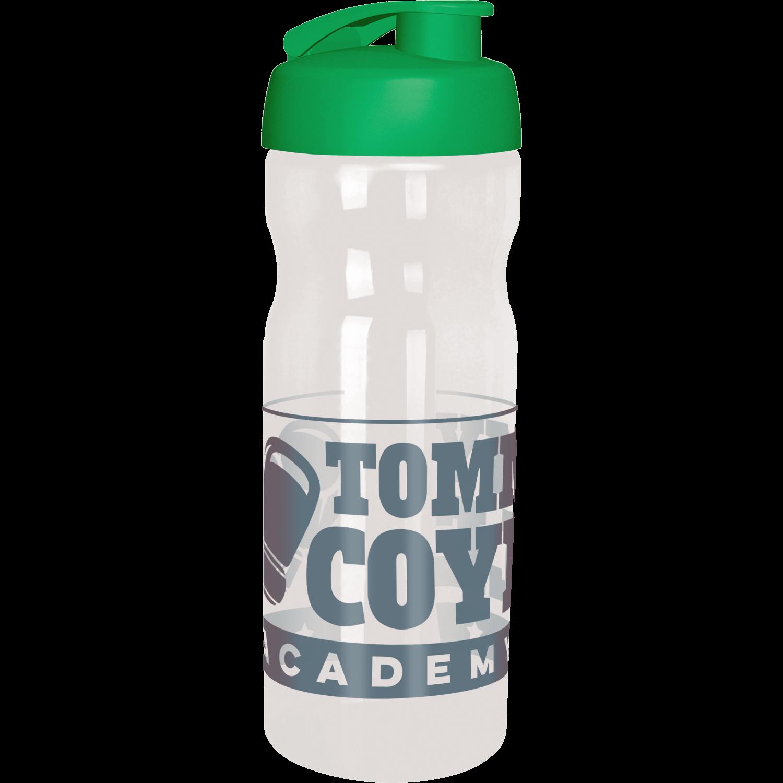 Clear Bottle - Green Flip Lid