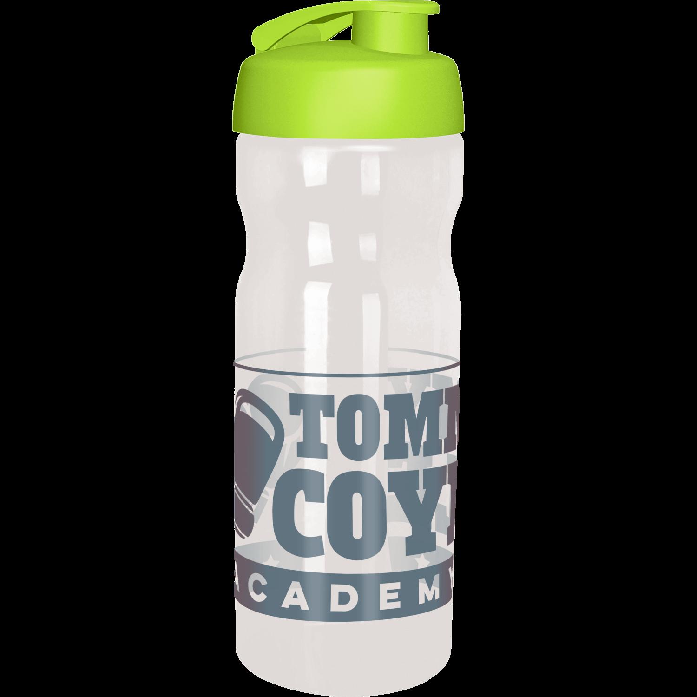 Clear Bottle - Lime Flip Lid
