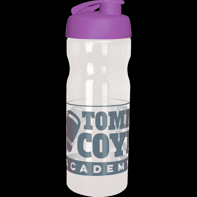 Clear Bottle - Purple Flip Lid