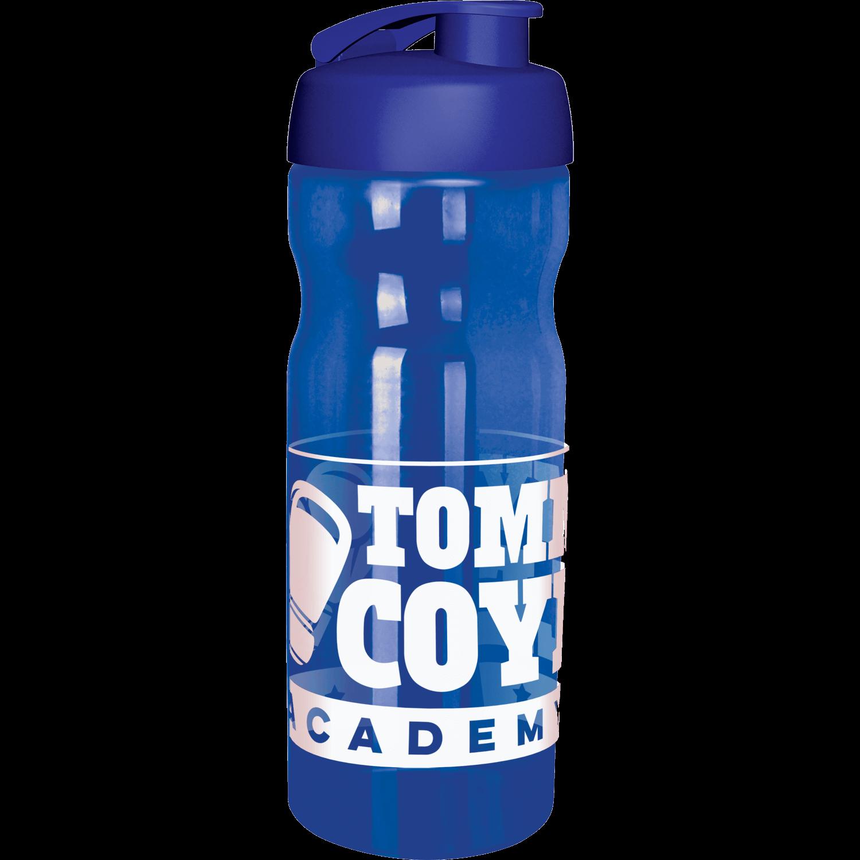 Trans Blue Bottle - Blue Flip Lid
