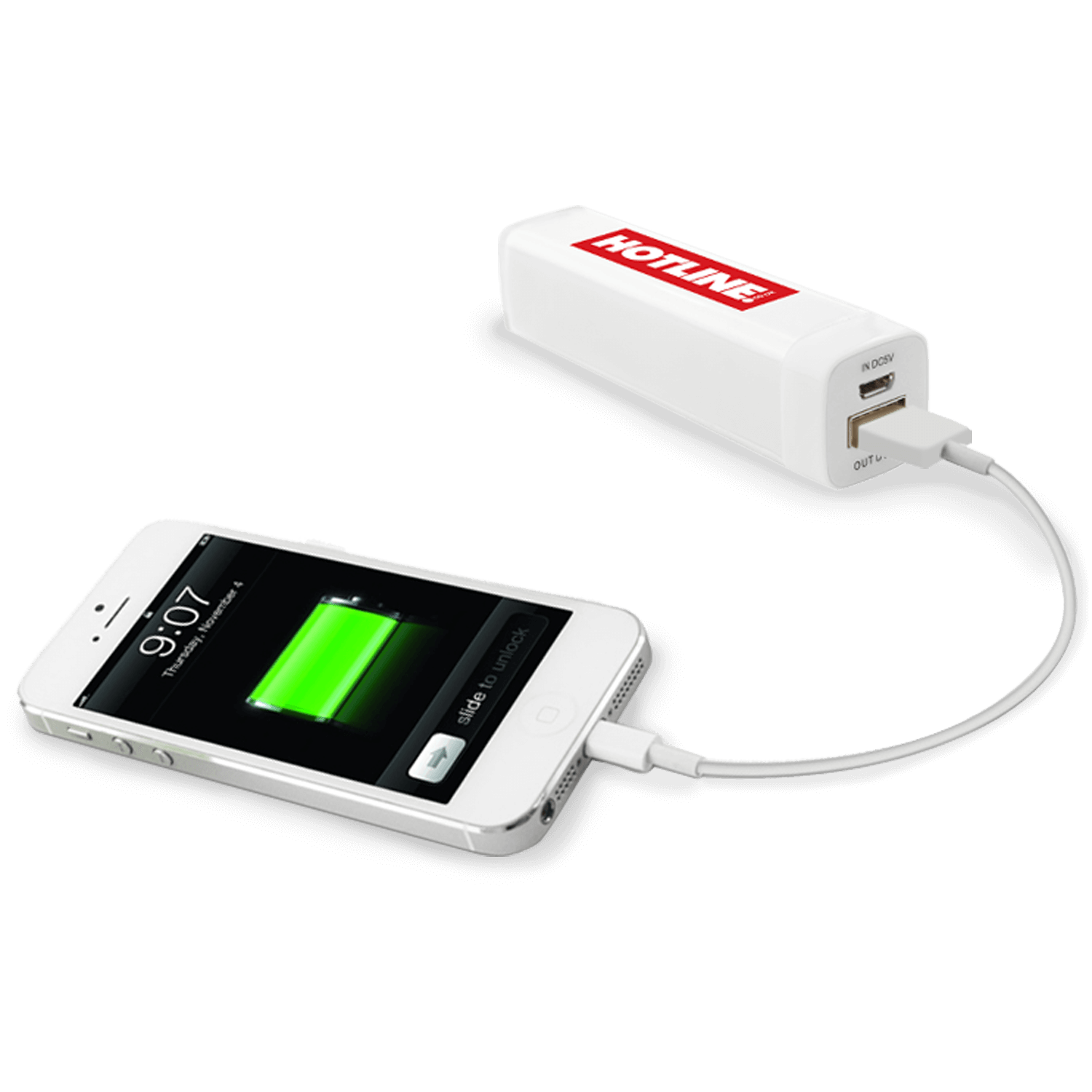 Printed Power Bank Charger - 2200mAh